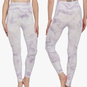 Free People Shanti Tie Dye Yoga Leggings Lavender